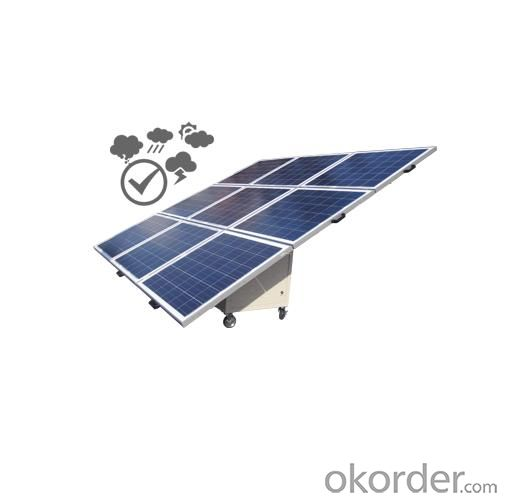 Off grid solar car suitable fore developping area