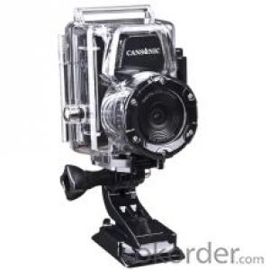 Waterproof outdoor sports camera