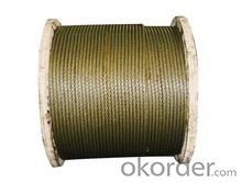 steel wire ropes for fishing