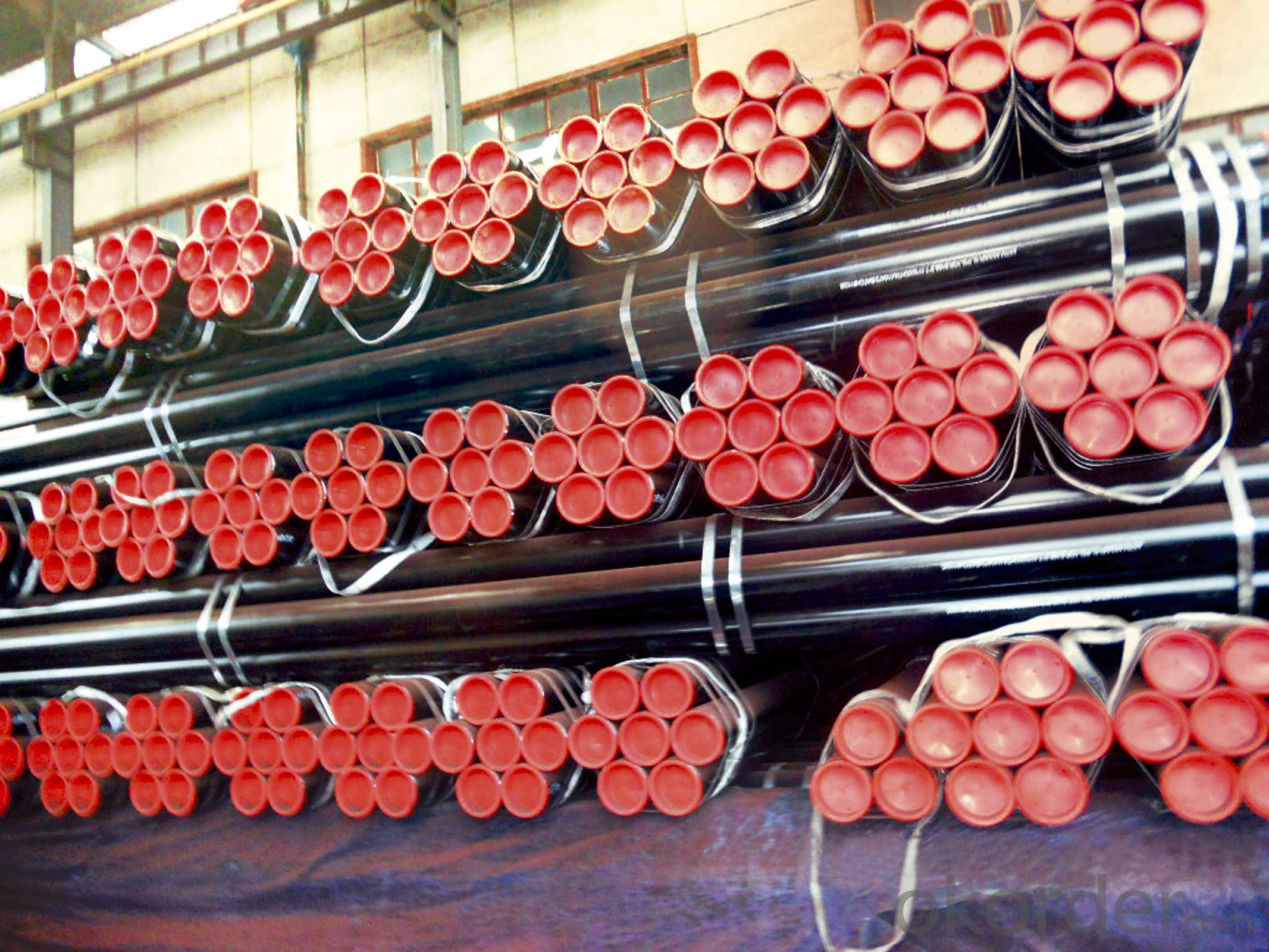 Electtic Resistance Welded steel Pipe ERW Oil Pipes Factory