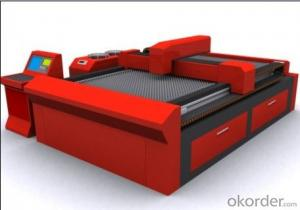 AUTOMATIC LOGO RECOGNITION LASER CUTTING MACHINE - OPEN MOULD