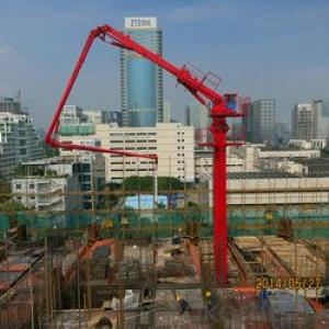 Self Climbing HGY24 Concrete Placing Boom