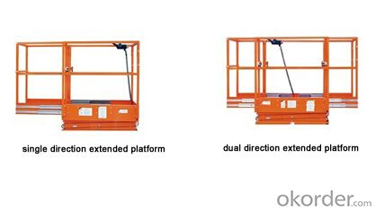 Full Electric Aerial Work Platform Mode III-JCPT3.0