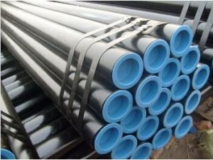 Black Carbon Seamless Steel Pipe For Structure 3