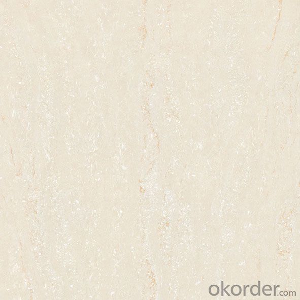 Polished Porcelain Floor Tile Navona Travertino Serie CMAX3603