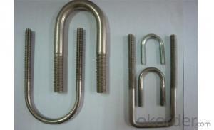 Standard Size ZInc Plated Grade 10.9 U-bolt