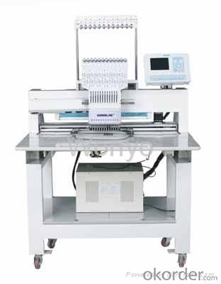 COMPUTERIZED FLAT EMBROIDERY MACHINE - SINGLE HEAD