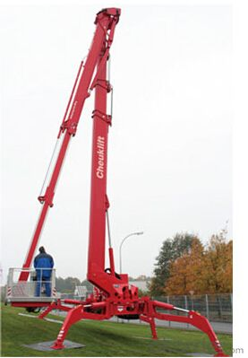 Self-propelled aerial working platform PSS400AX