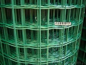 PVC Welded Wire Mesh Q195 Wire Rod Materil All Welded Wire Mesh Factory
