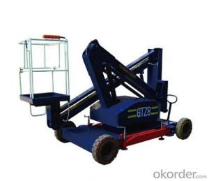 Articulating aerial working platform--GTZ0