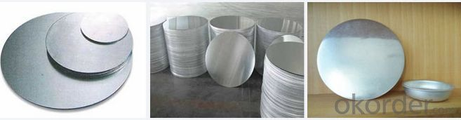 with diameter 720mm   0.5mm  aluminium circles