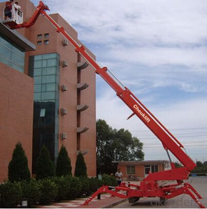 Self-propelled aerial working platform PST300