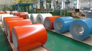 Full-coloured aluminum coil