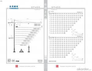 YONGMAO ST455 tower crane