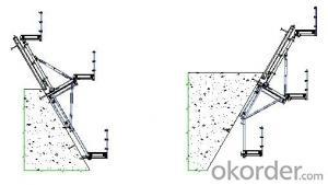Concrete Climbing Building Formwork with Adjustable Truss CB240B