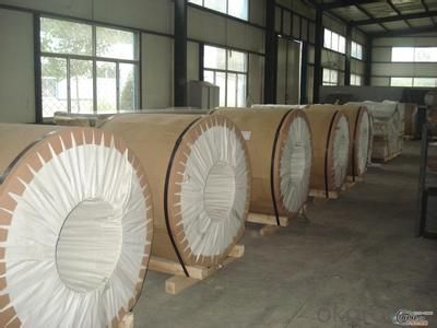 Mill finish alu coil