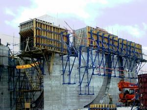 Adjustable Durable Climbing System Formwork with Heavy Bearing Load