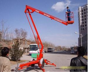 Trail-type aerial working platform PTS120