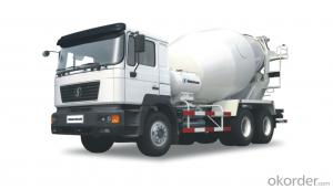 SHACMAN F2000 6X4 9 CUBIC METERS CONCRETE MIXER TRUCK