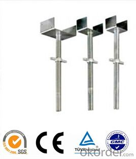 Scaffolding u-head jack accessories