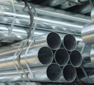 Galvanized Seamless Round Pipe Wth Good Price