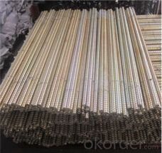 formwork tie rod quantity