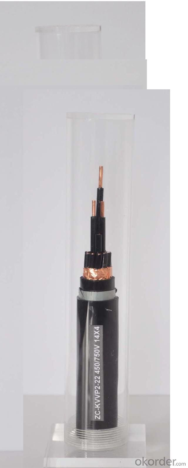 Flame retardant PVC insulated control cable