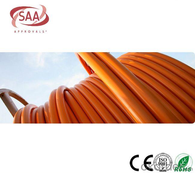 Circular Cables PVC 600/1000V 3C+E Copper /Orange cable as per  AS/NZS 5000.1