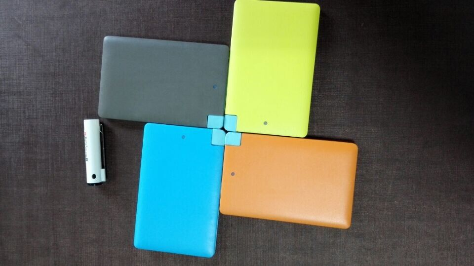 Credit card  power bank 2500mah