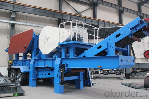 PP900 portable crushing plant