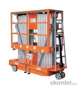 Mobile Aluminium Work Platform (dual mast)-GTWY -2000