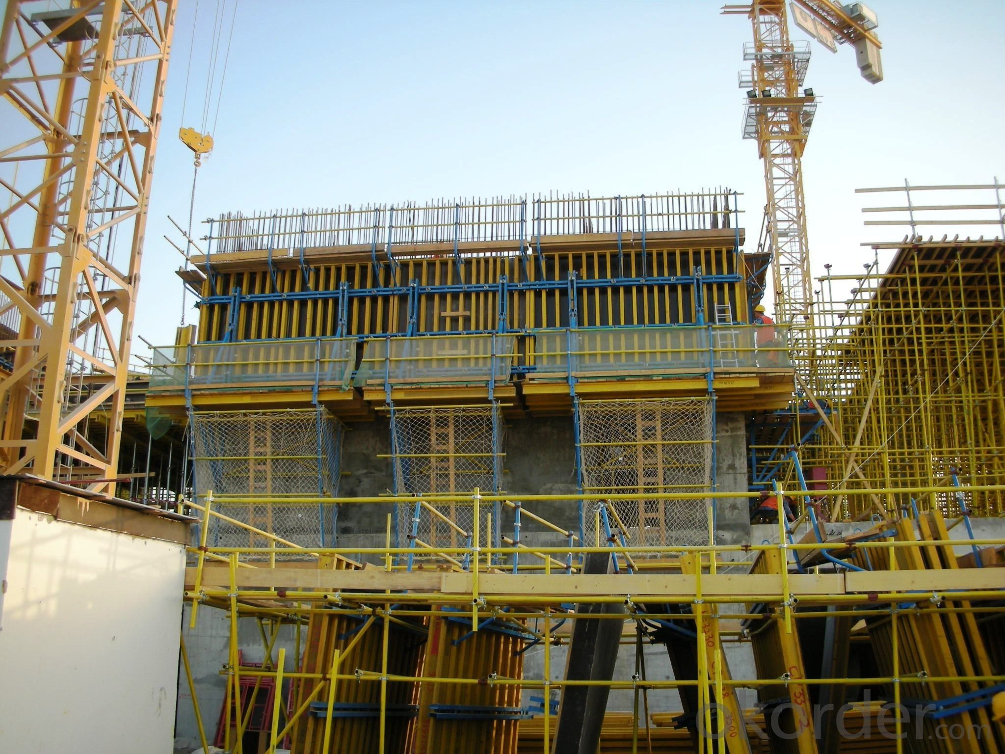 Robust Waterproof Aluminum Concrete Climbing Building Formwork System
