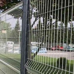 Hot-dipped Galvanized Temporary Fence