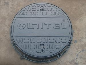 Heavy ductile iron manhole covers
