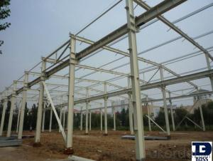 steel warehouse frame