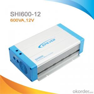 High Efficiency Off-Grid Pure Sine Wave PV Inverter 600W, DC 12V-AC 220V/230V,SHI600-12