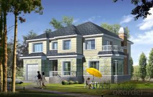 Villa Light Steel Prefab Frame House Luxury Villa