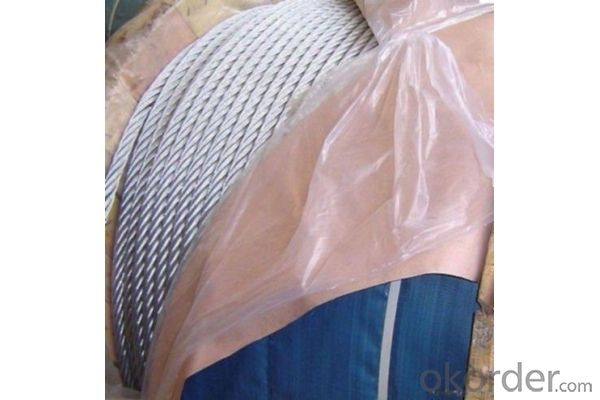 electric galvanized steel wire rope