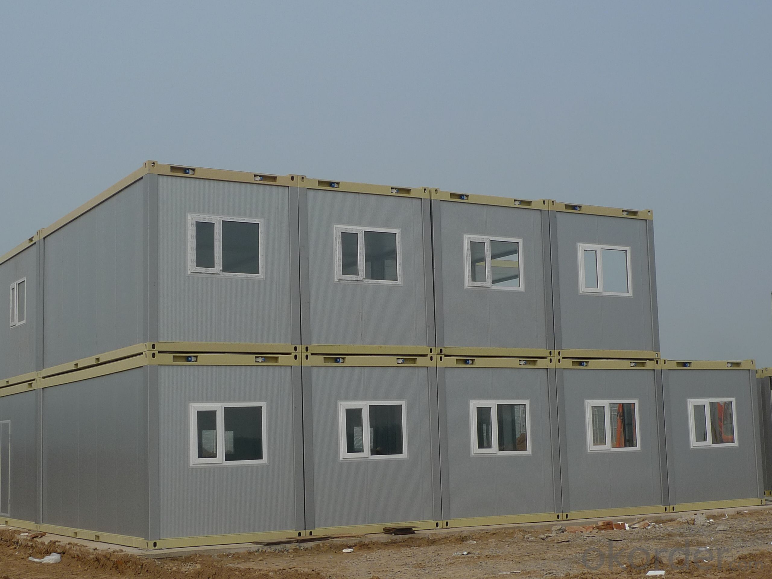 Modular Prefab Container House , Mini Living Container House for Bedroom