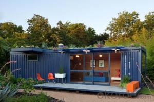 Luxury holiday prefabricated shipping container house