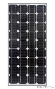 Monocrystalline Silicon Solar Panel Type CR070M-CR100M