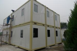 Eco Friendly Prefab Container House Windproof For Labor Dormitory