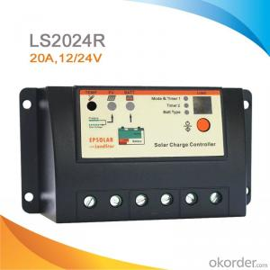 PWM Solar Charge Controller,20A,12/24V  with Integrated LED Driver