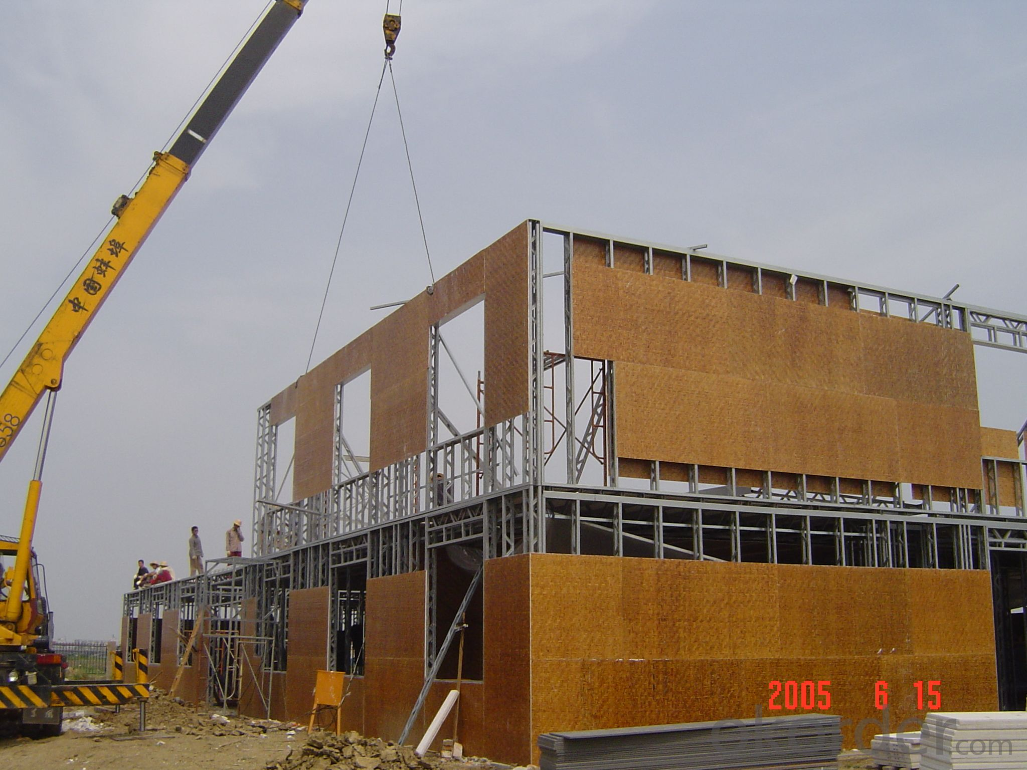 Prefabricated House With Low Cost from China