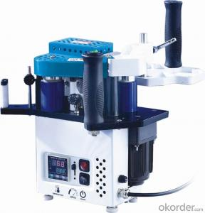 PVC edge banding machine