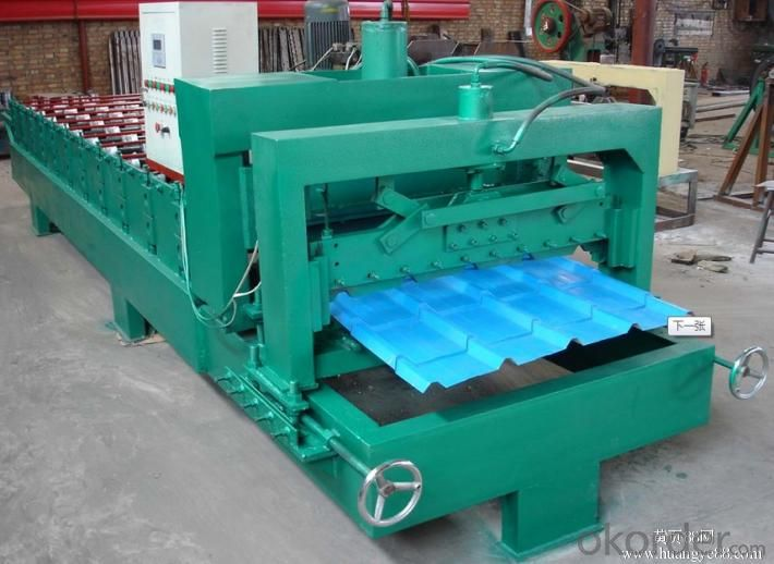 GLAZED TILE MACHINE