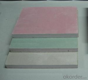 Paper Faced Gypsum Board in Size 2400*1200*12mm