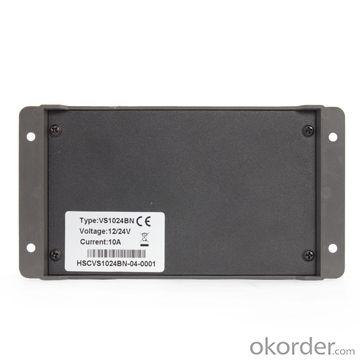 Intelligent PWM Solar Charge Controller for Solar Street Light,10A,12V/24V,VS1024BN