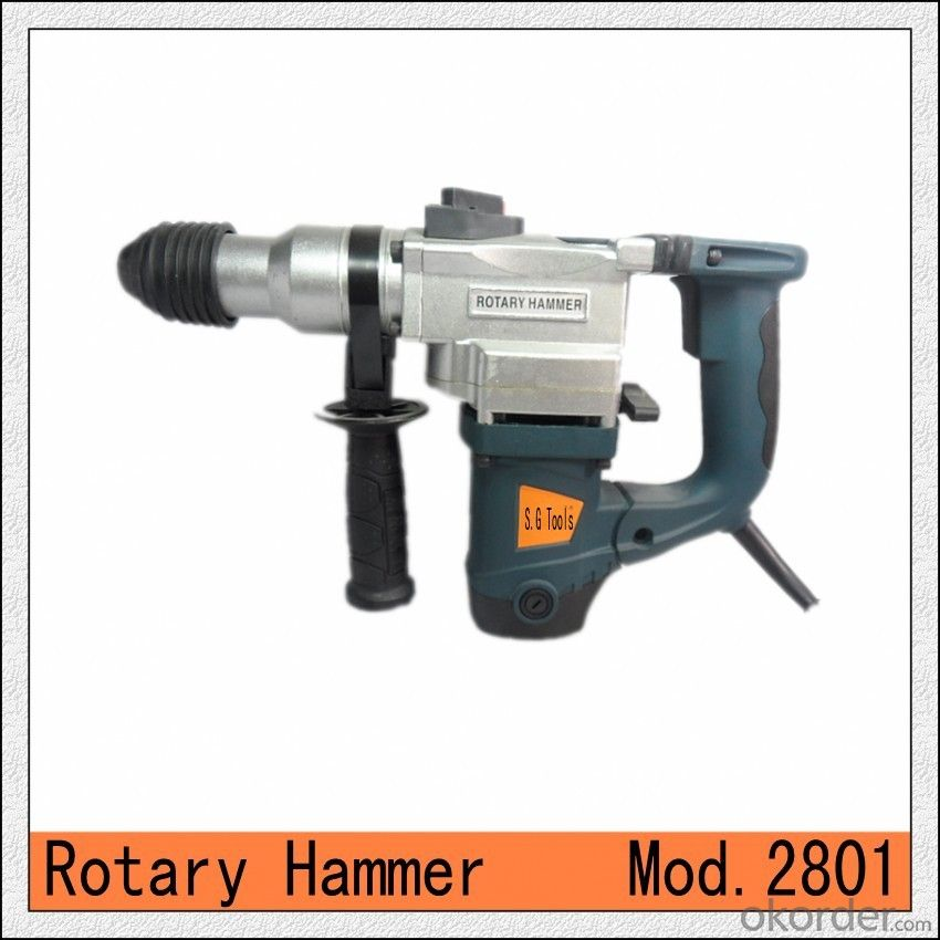 three functions 28mm damping Hammer