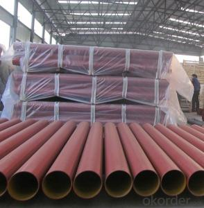 CAST IRON PIPE  EN877- EPOXY